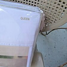 Hotel Luxury Bed Sheets Set 1800 Queen White Platinum 1800 Collection