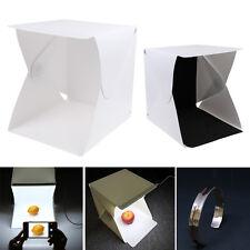 Light Room Mini Photo Studio Photography LED Lighting Tent Kit Backdrop Cube Box