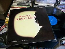 BUDDY HOLLY- REMEMBER VINYL ALBUM