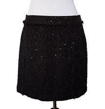 MICHAEL KORS Black Sequin Skirt, SIze