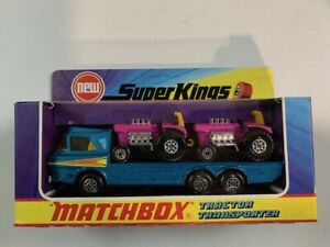 Coche miniatura Matchbox K  SK-21 Tractor Transporter