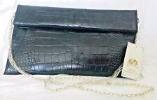 Urban Expressions handcrafted Vegan PETA-Emerald-Emilia Clutch Purse handbag NWT