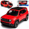 Jeep Renegade SUV Rot Ab 2014 1/24 Maisto Modell Auto mit oder ohne individiue..