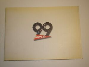 NINCO 1:32 Scale Catalog for the year 1999 - Rare!