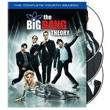 THE BIG BANG THEORY - COMPLETE FOURTH SEASON 4 - BRAND NEW & SEALED DVD (REG.1)