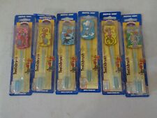 6 Rocky and Bullwinkle Toothbrushes