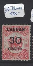 LABUAN (P2309B)  30C/$1.00  SG 78   MOG
