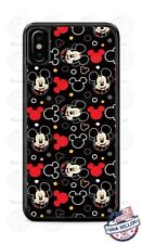 Mickey Mouse Cute Face Collage Phone Case For iPhone 11Pro Samsung S9 LG Google