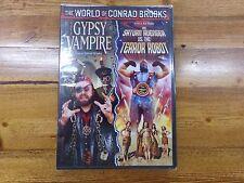 Gypsy Vampire And Saturn Avenger Vs.The Terror Robot DVD NEW Conrad Brooks