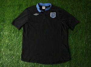 ENGLAND TEAM 2011/2012 FOOTBALL SOCCER SHIRT JERSEY AWAY UMBRO ORIGINAL SIZE L