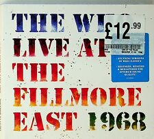 The Who- Live At Fillmore East 1968 Concert 2-CD NEW inc My Generation 33 mins!
