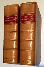SAMUEL JOHNSON-DICTIONARY OF ENGLISH LANGUAGE-FINE LEATHER by MAGGS,-2Vols-1786-