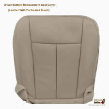 2010 2011 2012 Ford Expedition -Driver Bottom Gray Perforated Leather Seat Cover