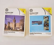 2 VTG Southern Bell /BELLSOUTH Yellow Pages Note Pads GREATER SPARTANBURG Area