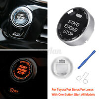Car Engine One Button Start Stop Switch Button Universal For Toyota/For   !F