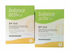2 X BALANCE ACTIV Vaginal BV GEL 7xHygienic Single-use Applicators Free P&P