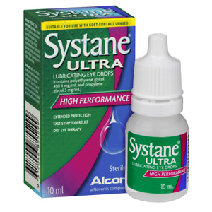 Systane Ultra 10mL Eye Drops Lubricant High Performance Fast Symptom Relief