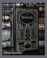 New Dracula Horror Classics Bram Stoker  Leather Bound Collectible Gift