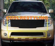 For 2005~2008 Nissan Frontier/05~ 07 Pathfinder Black Billet Grille Grill Insert