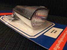 Vintage Scheinwerfer Schwarz-weiß Lampe UNION Oldtimer Fahrrad Licht NOS K10713