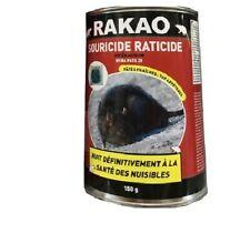 Souricide raticide rongeurs rat souris pâte fraiche attractif poison puissan 373