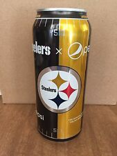 2017 Pittsburgh Steelers NFL Football 16 Ounce Pepsi Can FULL