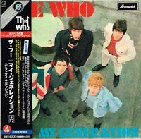 "The Who ""My Generation + 17"" Japan LTD Deluxe Edition Mini-LP 2CD w/OBI"