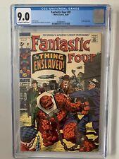 Fantastic Four #91 CGC 9.0 (1969) Skrulls Appearance