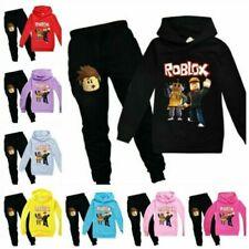 Kinder Roblox Hoodie Neu Pullover Hosen Anzug Langarm Trainingsanzug Sportswear!