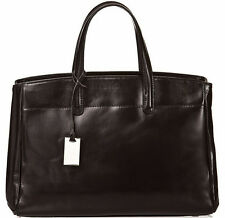 Borsa Donna a mano in vera pelle colore nero Bottega Carele
