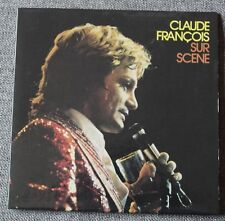 Claude François, sur scéne, CD - pochette simple