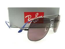 Ray-Ban Sunglasses RB3561 General Pop 9106/W0 Gunmetal Purple Polarized