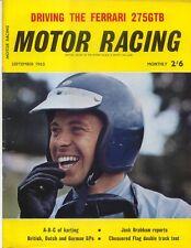 Motor Racing 09/1965 Karting British Dutch German GP Ferrari 275GTB Shelby Cobra