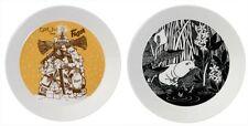 Moomin Fazer And  Moomintroll Daydreaming Dinner Plates Arabia Finland NIB
