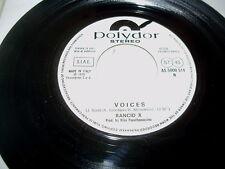 RANCID X - VOICES raro 45 giri juke-box PR0MO ex ITALY PUNK NEW WAVE !