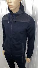 Hugo Boss Navy Tracksuit Zipped Hoodie & Pant Mens Large RRP £288 Bargain £109