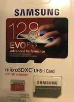 SAMSUNG EVO Plus 128GB Micro SDXC Class10 SD Memory Card with Adapter