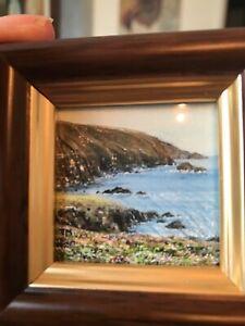 Original Painting of Rugged Cornwall
