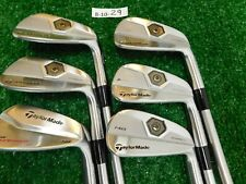 "TaylorMade TP MB Forged Irons 5-P KBS Tour C-Taper 120 Stiff Steel -.5"" Mid"