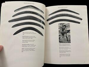ART OF THE FIRST AUSTRALIANS   AUSTRALIAN ABORIGINAL ARTS BOARD EXHIBIT 1960s