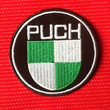 PUCH MAXI MOPED MOTORCYCLE VINTAGE SCOOTER BIKE BIKER  BADGE IRON SEW ON PATCH