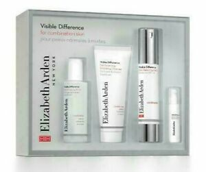 Elizabeth Arden Visible Difference for Oily Skin Kit 4 Pcs Set - NWB