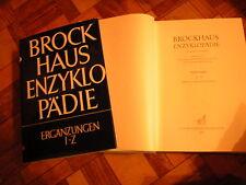 große Brockhaus - LEXIKON ERGÄNZUNGSBAND 22 + 23 komplett aus 17. Auflage RAR