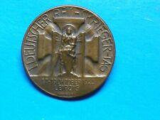 Rare Original Wwi Veterans 1925 German Badge -Maker Marked
