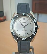 Vintage SS Oris Swiss 17 jewel hand wind watch