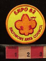 EXPO 82 BSA Patch Boy Scout - Baltimore Area Council 1982 70WF