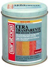 CERA TRASPARENTE SARATOGA GRAN CLASSE PER STUCCO VENEZIANO - CONF. 1000 ML