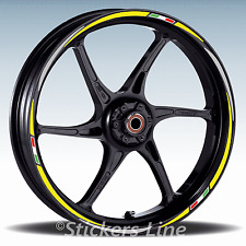 Adesivi ruote moto strisce cerchi Honda HORNET 600  Racing 3 stickers wheel