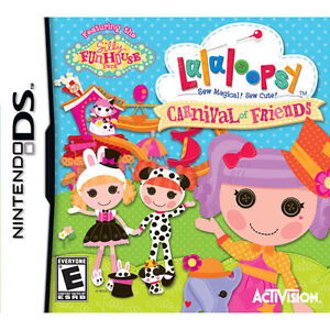 Lalaloopsy: Carnival of Friends (Nintendo DS, 2012)