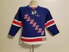 Vintage New York Rangers Gaborik #10 Small Sewn Youth NHL Hockey Jersey